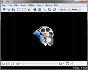 SMPlayer - SMPlayer 0.6.7 under Windows Vista