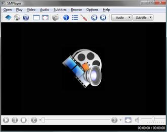 SMPlayer - SMPlayer 0.6.7 under Windows Vista