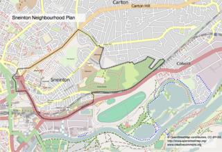 Sneinton village and suburb of Nottingham, England