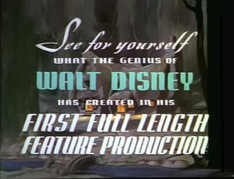 Fichier:Snow White and the Seven Dwarfs trailer (1937).webm