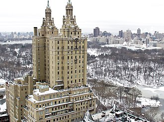 The San Remo - San Remo after a snowstorm