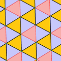 Snub triangular tiling with rhombitrihexagonal coloring.png