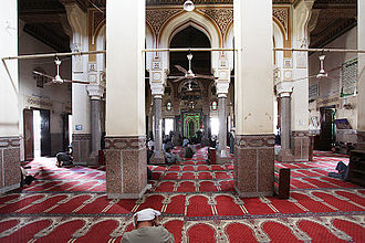 Sohag - Inside the Sidi Arif Mosque