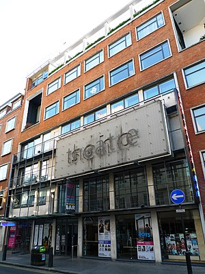 Soho Theatre - Image: Soho Theatre