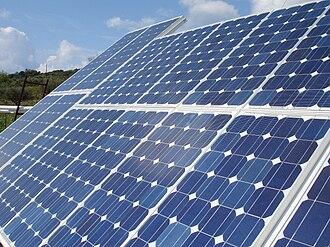 Renewable energy in Greece - Photovoltaic solar tracker in Lixouri