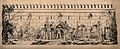 Soldiers, camels and elephants gather around a gate to an In Wellcome V0011756.jpg