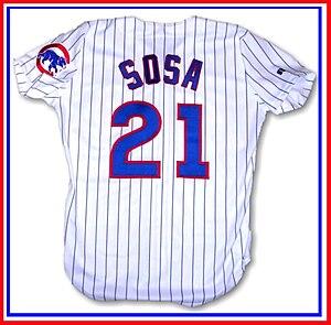 Sammy Sosa - Image: Sosa cubs jersey