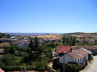 Bragança, Portugal - The rural scenery of the parish of Carragosa