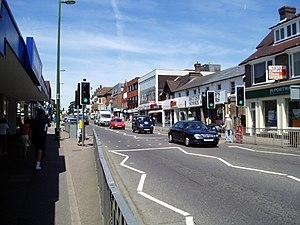 Haywards Heath - South Road in Haywards Heath