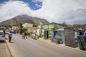 Hout Bay - A street in Imizamo Yethu
