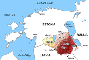 Learn estonian language in tallinn map