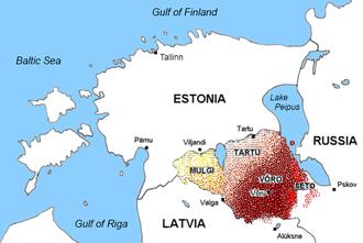 South Estonian - South Estonian today