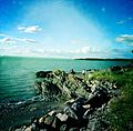 South shore of the St Lawrence Seaway, Riviere du Loup, Quebec, Canada - panoramio.jpg