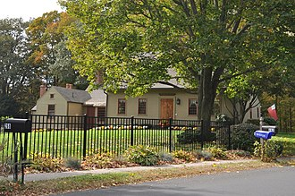 National Register of Historic Places listings in Southington, Connecticut - Image: Southington CT Selah Barnes House