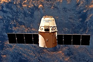 SpaceX Dragon C106 - C106 in free-flight after leaving the International Space Station during the SpX-11 mission