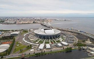 Krestovsky Stadium - Image: Spb 06 2017 img 40 Krestovsky Stadium