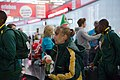 Special Olympics World Winter Games 2017 arrivals Vienna - South Africa 05.jpg