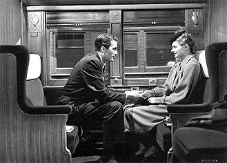 Spellbound (1945 film) - Gregory Peck and Ingrid Bergman in Spellbound