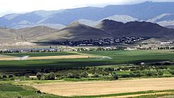Skyline of Spitak