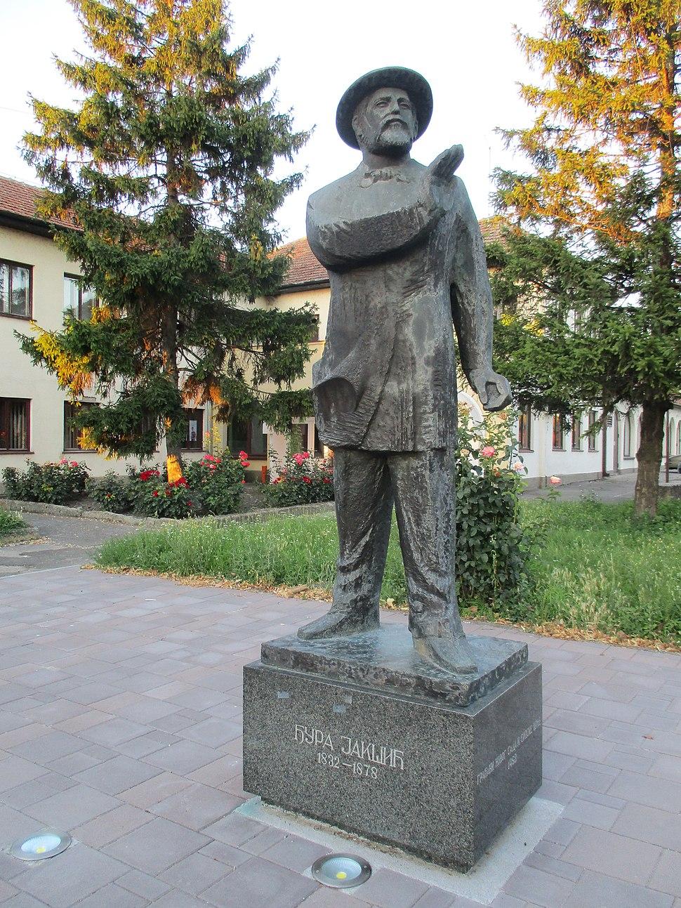 Spomenik Đuri Jakšiću u Srpskoj Crnji
