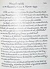 """Manuskript """"Hêmechssprõch""""-Chamberried"""