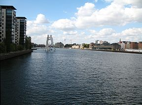 Spree i Berlin
