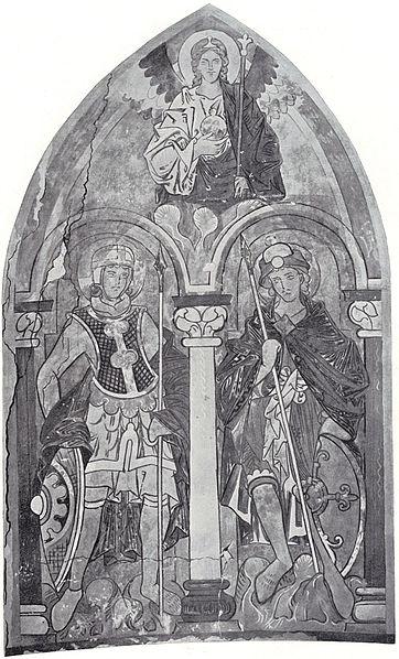 File:St. Gereon Koeln Wandgemaelde Taufkapelle.jpg