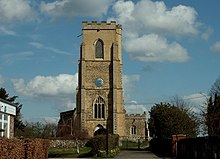 St. Laurence's church, Ridgewell, Essex - geograph.org.uk - 153227.jpg