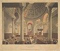 St. Stephen's Walbrook (Microcosm of London, pl. 90) MET DP829233.jpg
