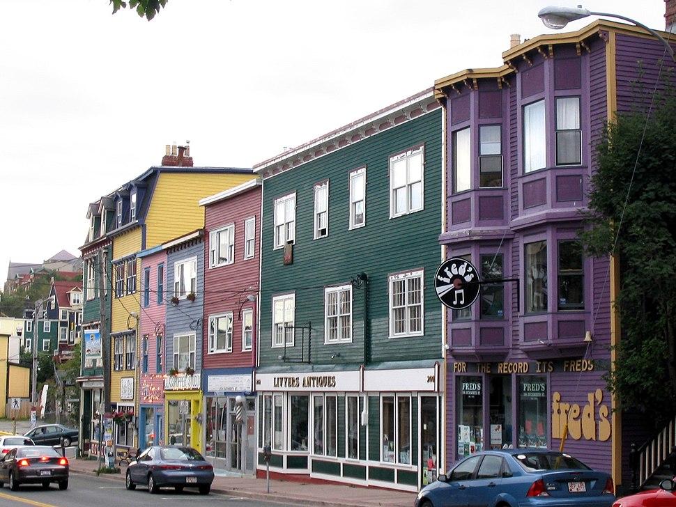 StJohns Newfoundland