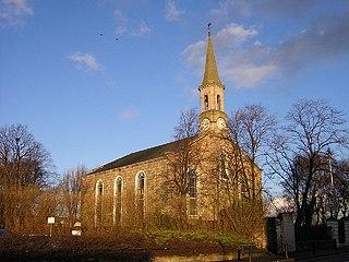 Bellshill town in North Lanarkshire, Scotland
