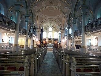 St John-at-Hampstead - The interior of St John at Hampstead