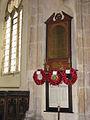 St Margaret's church - war memorial - geograph.org.uk - 911215.jpg