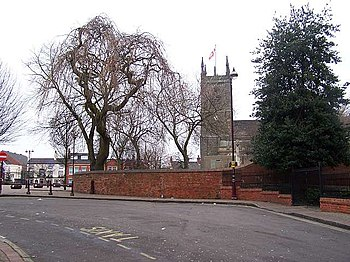 English: St Mary's Parish Church The bells rin...