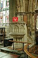St Mary, Bloxham, Oxon - Pulpit - geograph.org.uk - 1606469.jpg