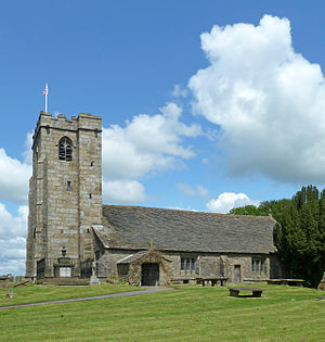 Grade I listed churches in Lancashire - Image: St Mary le Ghyll, Barnoldswick