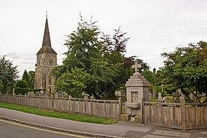 Chislehurst - St Nicholas' Church and Charles A Janson Memorial Drinking Fountain