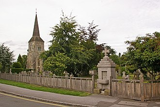 Chislehurst - St Nicholas' Church and Charles A Janson Memorial Drinking Fountain