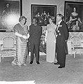 Staatsbezoek president Nyerere van Tanzania, gala-diner op Huis ten Bosch v.l.n., Bestanddeelnr 917-6731.jpg
