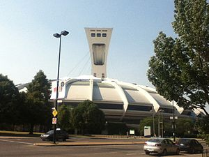 World Bowl '92 - Montreal's Olympic Stadium, where the 1992 World Bowl was played