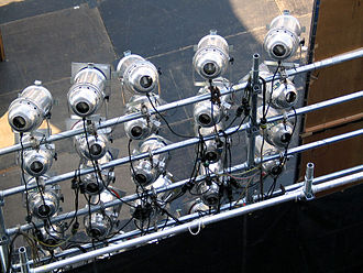 Stage lighting instrument - 20 PAR can lighting instruments
