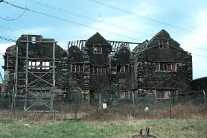 Stalybridge - Staley Hall before refurbishment