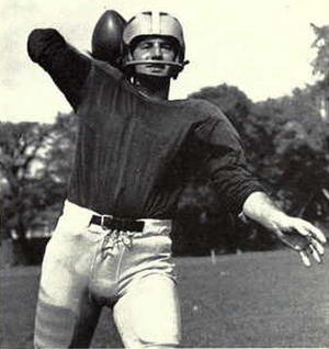 History of Michigan Wolverines football in the Elliott years - Quarteback Stan Noskin led the offense in 1959.