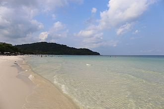 Phú Quốc - Bai Sao (Sao Beach), Star beach on Phu Quoc island