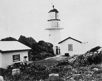 Pine Islet Light - Pine Islet Lightstation, ca. 1935