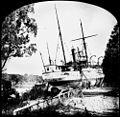 StateLibQld 1 174939 Paluma (ship) aground in the Botanic Gardens, Brisbane, 1893.jpg