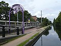 Station and canal at Bournville, Birmingham - geograph.org.uk - 963147.jpg