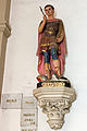 Statue de saint Expédit, Basilique Notre Dame de Bonne Nouvelle, Rennes, France.jpg