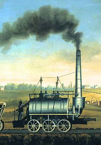 Steam Elephant - Steam Elephant from an 1820 painting
