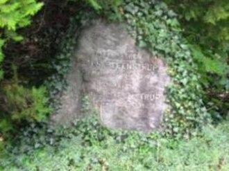 Japetus Steenstrup - Japetus Steenstrup's gravestone at Assistens Kirkegård, Copenhagen